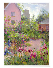 Poster Premium  Herb Garden at Noon - Timothy Easton