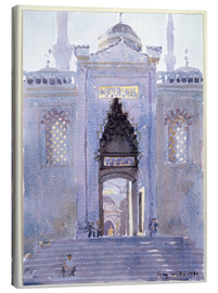 Stampa su tela  Gateway to The Blue Mosque - Lucy Willis