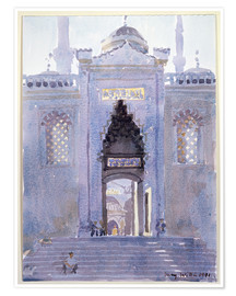 Poster Premium  Gateway to The Blue Mosque - Lucy Willis