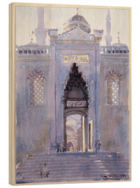 Legno  Gateway to The Blue Mosque - Lucy Willis