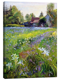 Stampa su tela  Cottage in the country - Timothy Easton