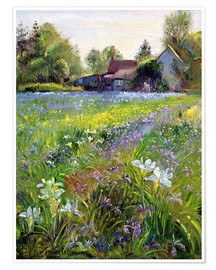 Poster Premium  Cottage in the country - Timothy Easton