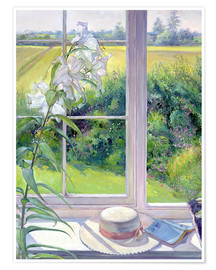 Poster Premium  Reading corner in the window, detail - Timothy Easton