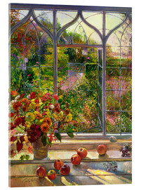 Vetro acrilico  Overlooking the autumn - Timothy Easton