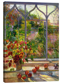 Stampa su tela  Vista autunnale - Timothy Easton