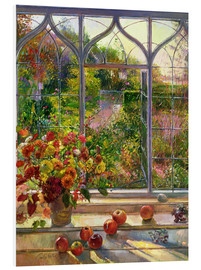 Stampa su PVC  Vista autunnale - Timothy Easton