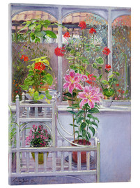 Vetro acrilico  In the winter garden - Timothy Easton