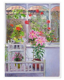 Poster Premium  In the winter garden - Timothy Easton