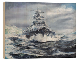 Legno  Bismarck off Greenland coast - Vincent Alexander Booth