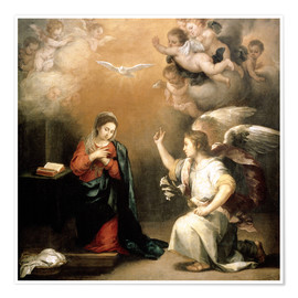Poster Premium Annunciation to the Virgin