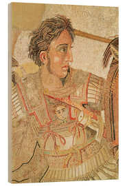 Stampa su legno  Alexander the Great - Roman