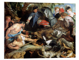 Forex  Hunting a Wild Boar - Peter Paul Rubens