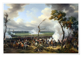 Poster Premium Battle of Hanau, 1813