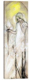 Tela  Study for Lily - Alfons Mucha