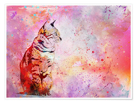 Poster  Cat - Andrea Haase
