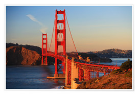 Poster Premium  Golden Gate Bridge - Stuart Westmorland