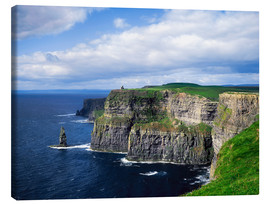 Stampa su tela  Cliffs of Moher, Ireland - The Irish Image Collection