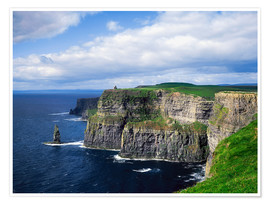 Poster Premium  Cliffs of Moher, Ireland - The Irish Image Collection