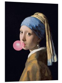 Forex  The Girl with a Pearl Earring (gum) - Jan Vermeer
