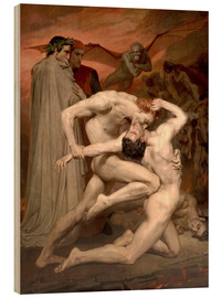 Legno  Dante and Virgile - William Adolphe Bouguereau