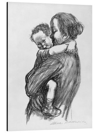 Alluminio Dibond  Mother and Child - Käthe Kollwitz