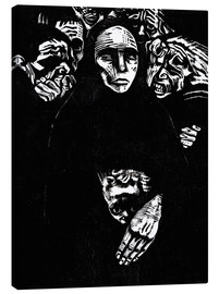 Tela  The people (the war) - Käthe Kollwitz