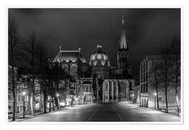 Poster Premium Aachen Cathedral