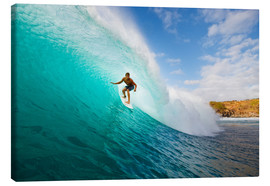 Stampa su tela  Surfer in Hawaii - MakenaStockMedia