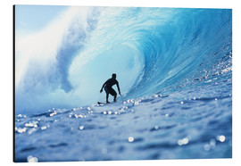 Vince Cavataio - Surfer in the pipeline Barrel