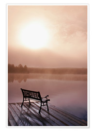 Poster  Jetty in morning fog - Doug Hamilton