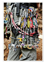 Poster Premium  Climbing equipment in the Adirondacks - Roderick Chen