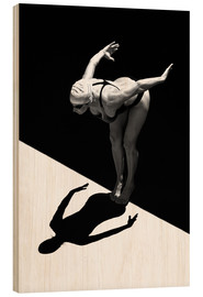 Legno  A woman jumps into the water I - Ben Welsh