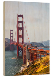 Legno  Golden Gate Bridge, San Francisco - Leah Bignell