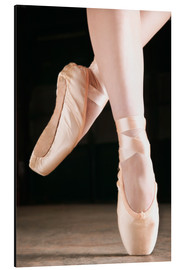 Alluminio Dibond  Ballet Dancer En Pointe - Don Hammond