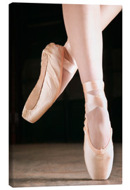 Stampa su tela  Ballet Dancer En Pointe - Don Hammond