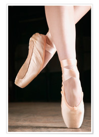 Poster Premium  Ballet Dancer En Pointe - Don Hammond