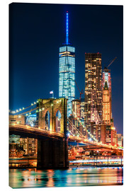 Tela  New York City Landmarks - Sascha Kilmer