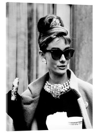 Vetro acrilico  BREAKFAST AT TIFFANY'S