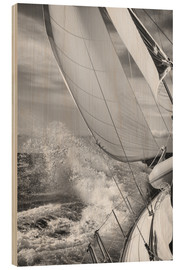 Legno  Sailing black / white - Jan Schuler
