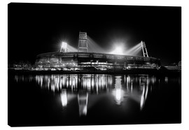 Tela  Weserstadion black and white - Tanja Arnold Photography