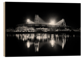 Legno  Weserstadion black and white - Tanja Arnold Photography