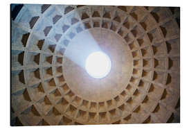 Alluminio Dibond  Ceiling of the Pantheon temple, Rome - Matteo Colombo