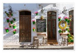 Poster Premium Typical bar in Andalusia