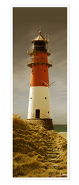 Poster Premium  Lighthouse in the evening light - Monika Jüngling