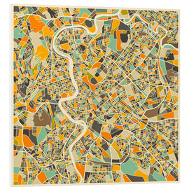 Forex  Rome Map - Jazzberry Blue