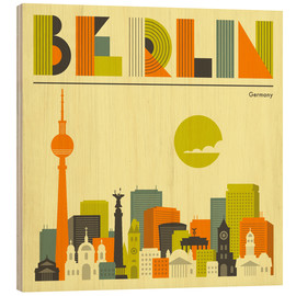 Legno  Berlin Skyline - Jazzberry Blue