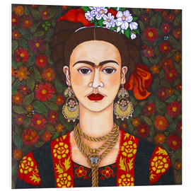 Forex  Frida with butterflies - Madalena Lobao-Tello