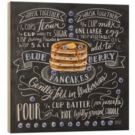 Legno  Blueberry pancakes recipe - Lily & Val