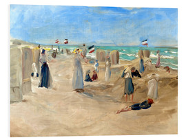 Max Liebermann - On the beach in Noordwijk