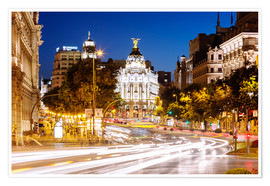 Matteo Colombo - Madrid city at night, Spain
